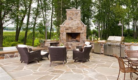 Mi Outdoor Kitchen Kalamazoo Outdoor Gourmet Outdoor Kitchen And Fireplace