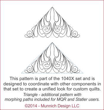 Penelophe Collection 02 munnich design quilt recipes digital quilting pattern