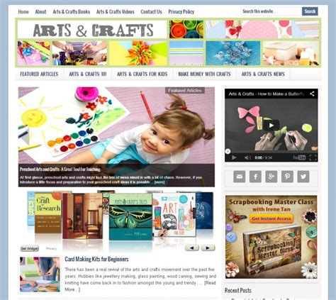 arts and crafts websites for and crafts websites