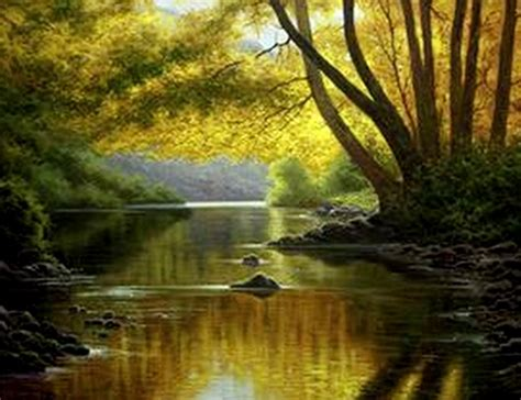 imagenes de paisajes oleo im 225 genes arte pinturas paisajes hermosos al 211 leo