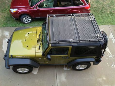 Jeep Wrangler Top Roof Rack by Sell Used 2007 Jeep Wrangler Rubicon 2dr Soft Top