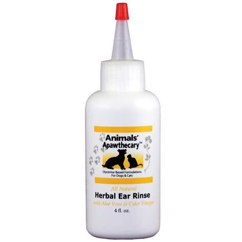 ear rinse animals apawthecary herbal ear rinse 4 oz healthypets