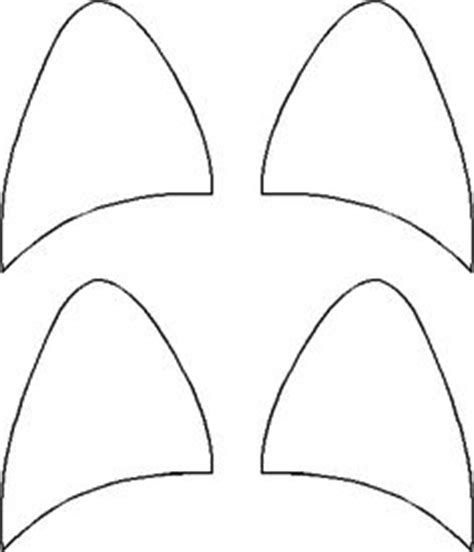 printable cat ears template birthday party ideas