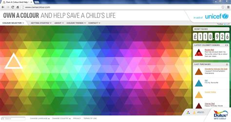 how many colors are there in the world sofii 183 unicef uk own a colour appeal
