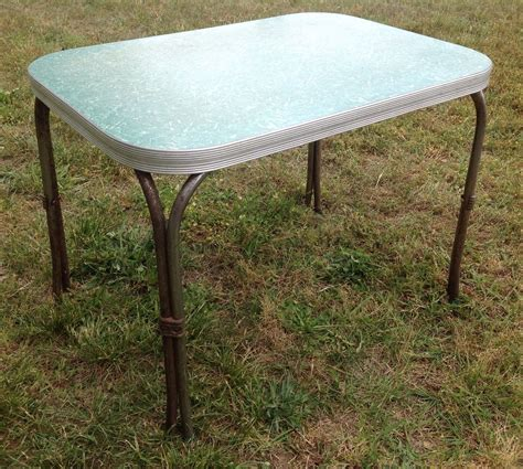 formica kitchen table small formica top kitchen table green chrome 42x30 mid