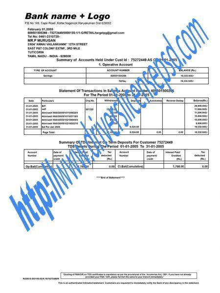bank statement psd bank statement psd pinterest bank