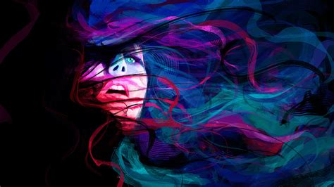 wallpaper abstract woman woman faces abstract color abstract girl face eyes lines