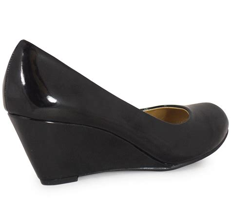 Best Seller Wedges Simple Mocca shoes wedges black with simple inspirational in thailand playzoa