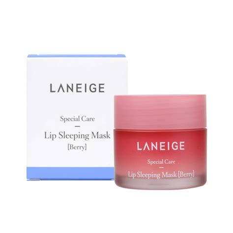 Laneige Lip Sleeping Mask 20g Berry laneige bb cushion pore 23 sand beige with refill