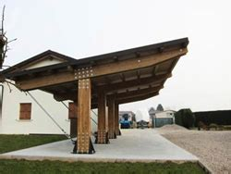 calcolo tettoia in legno lamellare pensiline fotovoltaiche in legno lamellare