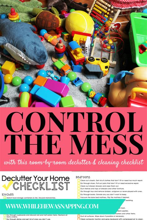 control   mess   cleaning