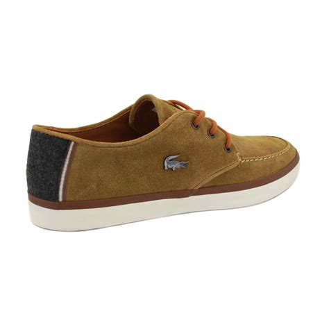 lacoste sevrin 2 mens laced suede trainers shoes ebay