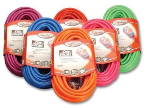 colored extension cords the world s catalog of ideas