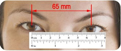 printable pupillary distance ruler yourgreatglasses com save big on kid s women s and men