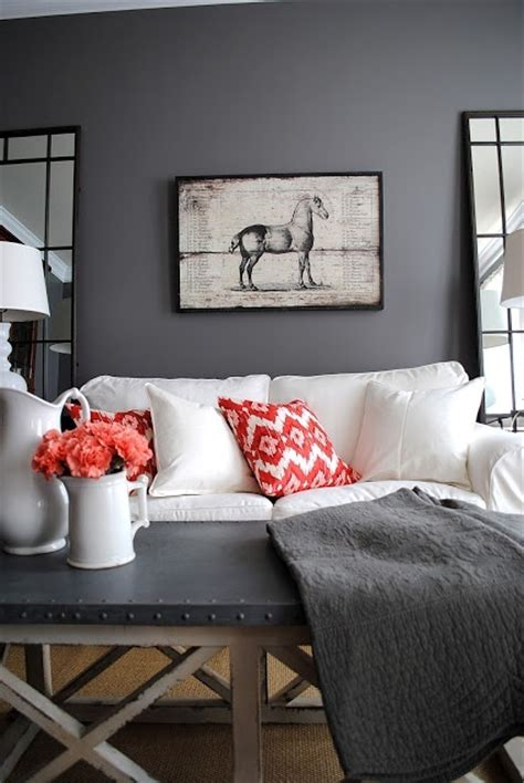 Grey Home Decor by 30 Grey And Coral Home D 233 Cor Ideas Digsdigs