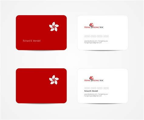 modern serious name card design for zhan ming cheok by