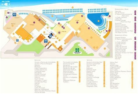 palace resort cancun map 31 best images about resort maps on st lucia