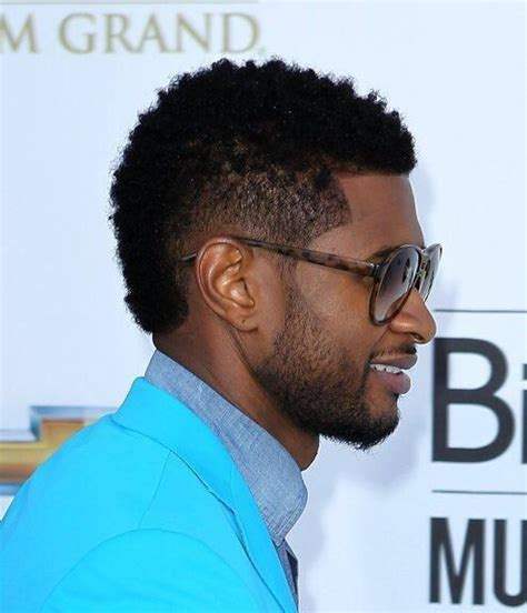 best haircut like usher hairstyle best black men mohawk haircuts styles