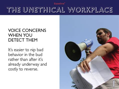 the unethical workplace intelligence news reviews baseline