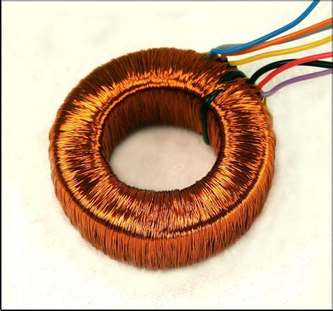 inductor coil winder vintagewindings toriod audio filter inductor design service page