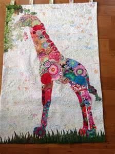 giraffe quilt fiberworks heine pattern my work