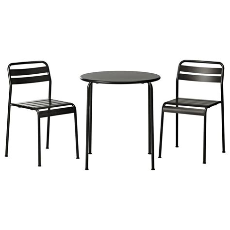 Ikea Bistro Table Get A Spot In Your Garden Or Patio By Decorating An Ikea Bistro Set Homesfeed