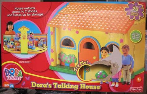 talking house dora s talking house new in the box ebay selling it pinterest house the o