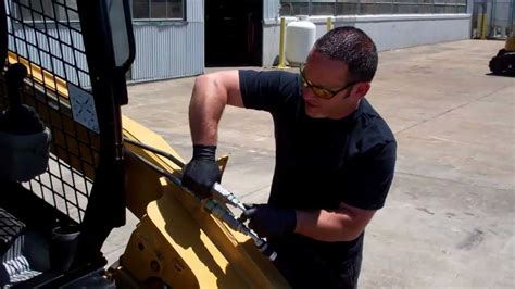 release auxiliary hydraulic pressure   cat
