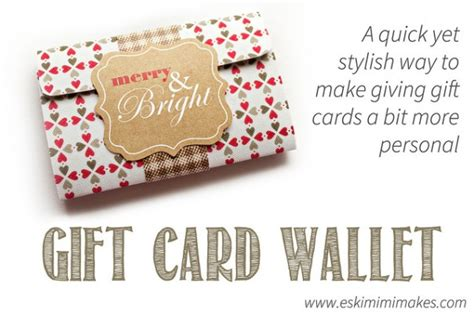 printable gift card holder make a chic gift card holder with free printable template