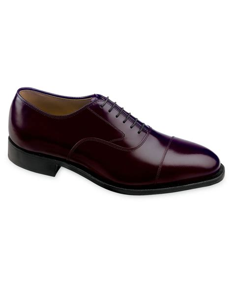johnston and murphy mens shoes johnston murphy shoes melton cap toe oxfords in purple