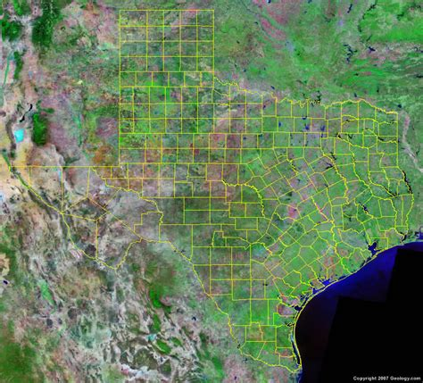 texas county seat map texas county map