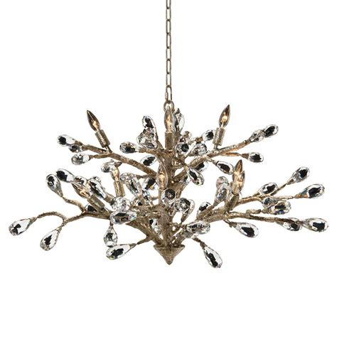 Brushed Gold Chandelier Elmsley Modern Brushed Gold Branch Drop Chandelier Kathy Kuo Home