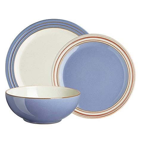 blue heritage pattern dishes buy denby heritage fountain 12 piece dinnerware set in