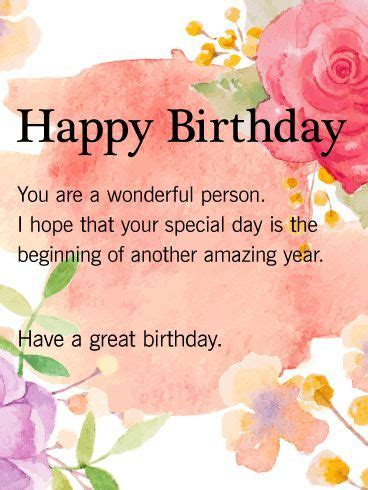 Happy Birthday Wishes To A Wonderful Friend Happy Birthday Quotes Happy Birthday You Are A Wonderful