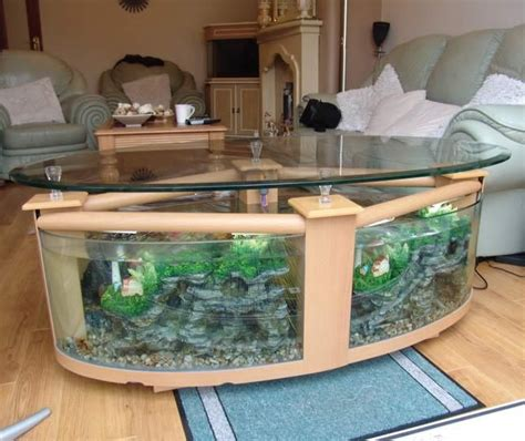 Fish Tank Coffee Table Uk 1000 Ideas About Coffee Table Aquarium On