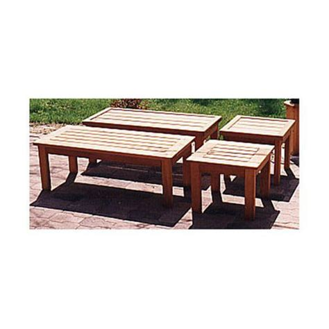 woodcraft woodworking project paper plan  build patio