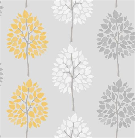 yellow and grey wallpaper next fine decor riva tree wallpaper fd41594 yellow grey