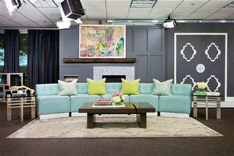 living room set with tv designer abbe fenimore s take on the d tv set d magazine
