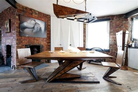 Industrial Style In A Small Apartment In London Interior | industrial style in a small apartment in london interior