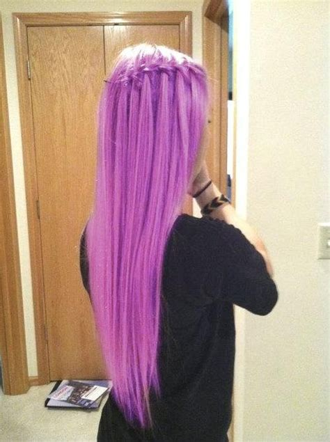 i would love to have this hair color beauty long purple hair i would love to do this again if i was