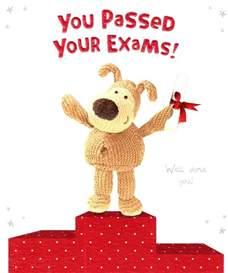 boofle you your exams congratulations card cards kates