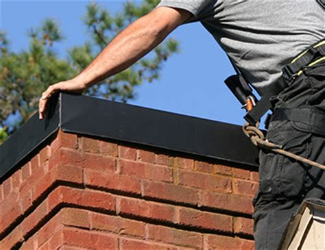 How To Install Fireplace Inserts by Chimney Chase Tops Fresno Chimney Chase Cover Installation