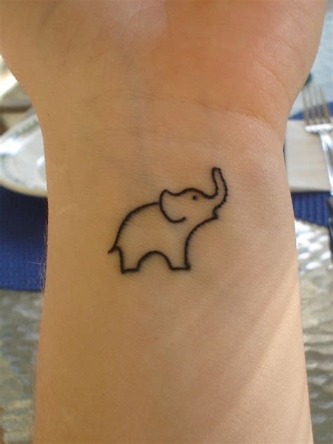 simple elephant tattoo designs 85 tiny elephant designs