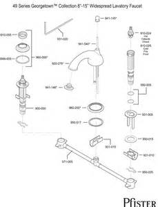 price pfister bathroom faucet replacement parts 49 series georgetown