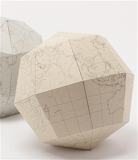 How To Make Paper Globe - geografia by drill design bristol and design