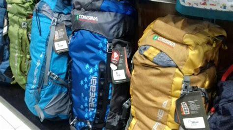 backpack consina mulai harga rp  ribuan  aneka jaya