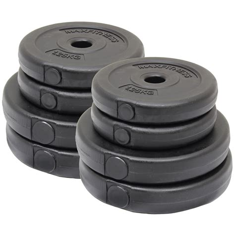 max fitness 15kg dumbbell weights set home workout