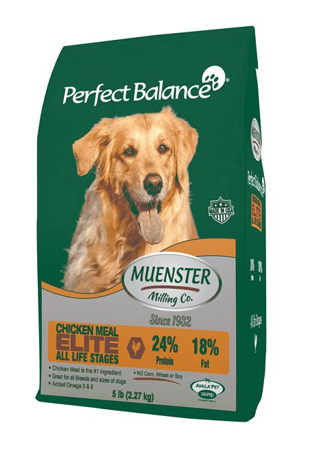 balance food puppy balance elite food muenster milling company
