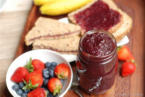 fruit jam mixed fruit jam