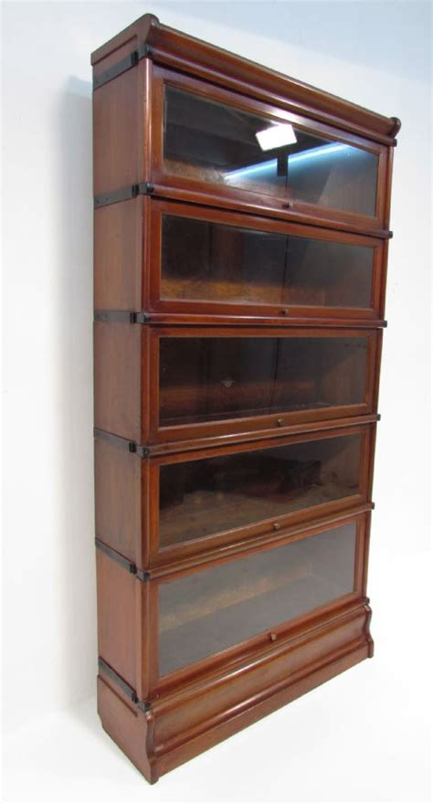 globe wernicke sectional bookcase antique mahogany globe wernicke 5 stack bookcase